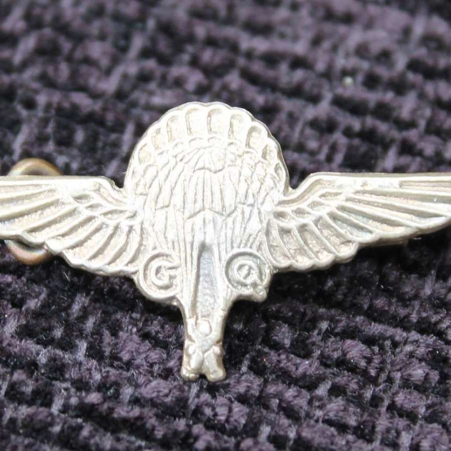Gregory Quilter Paratroopers Badge
