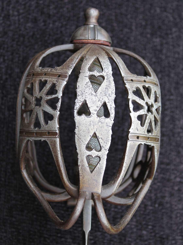 1857 Pattern Basket Hilted Drummers Broadsword