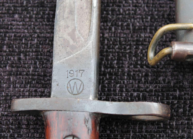 American Model 1917 Bayonet