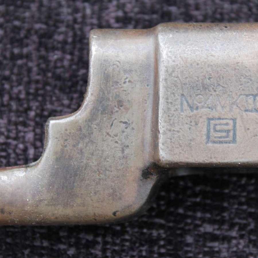 No4 MK II Spike Bayonet In Victory Plastics Scabbard