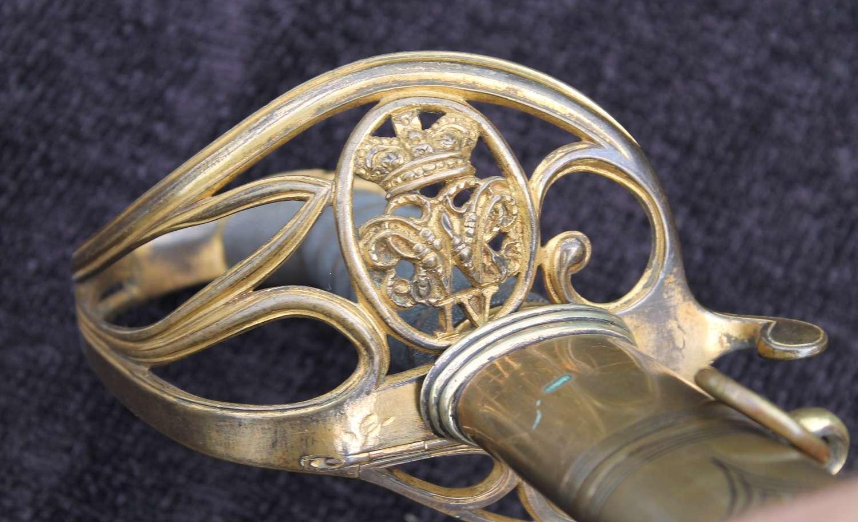 1822 Pattern William IV Infantry Officers Sword