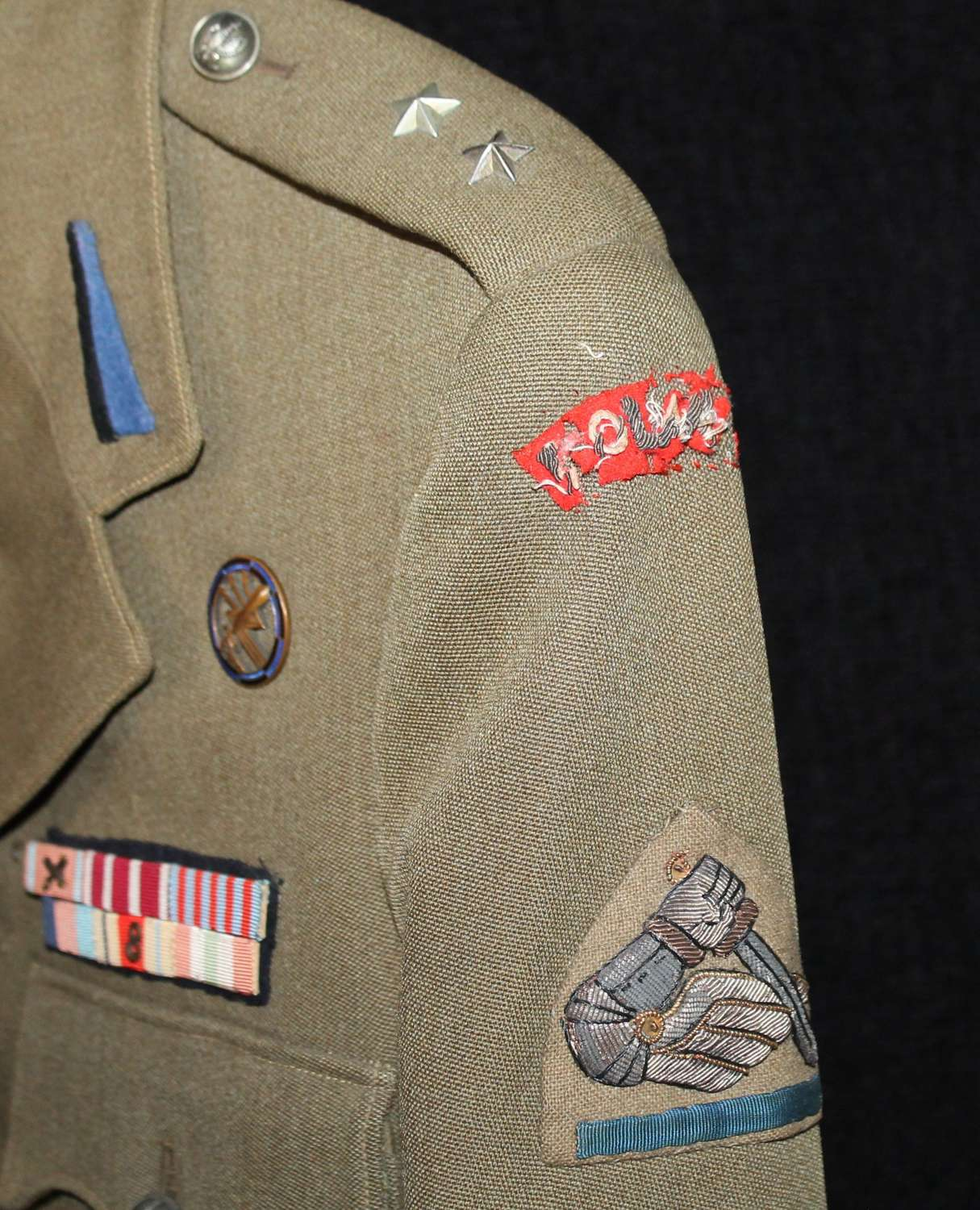 Polish 2nd Warsaw Armoured Division Officers Tunic