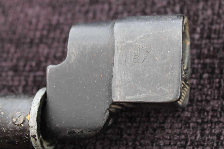 British No 4 Mk II Spike Bayonet By Singer